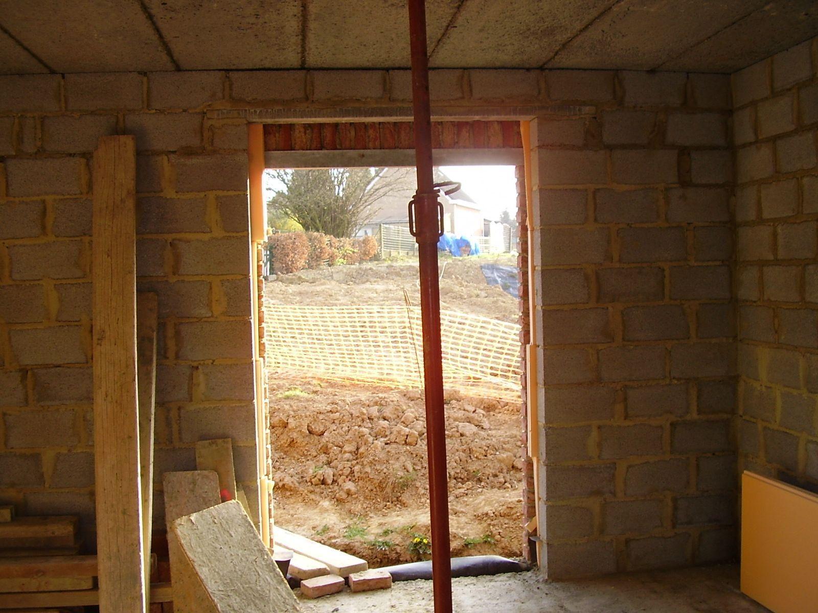Porte fen tre salle manger ma onnerie centerblog - Porte salle a manger ...